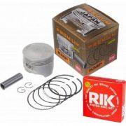 Pistão com anéis Titan 150 70mm (220cc) STD KMP Premium