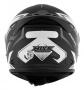 Capacete De Moto Mixs MX2 Carbon Preto Fosco/Grafite