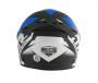 Capacete De Moto Mixs MX2 Storm Preto/Azul