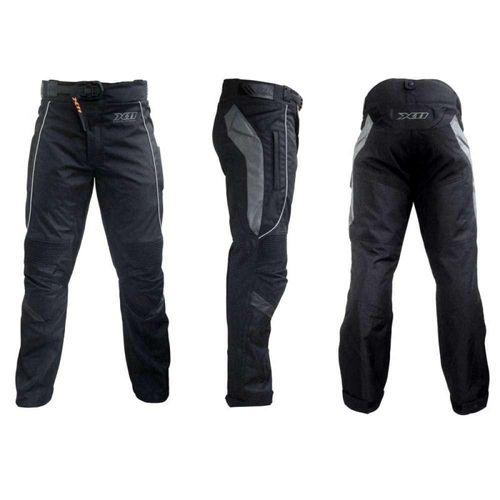 Calça de motoqueiro Masculina X11 Ultra preta