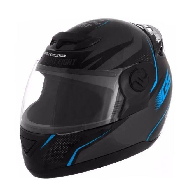 Capacete de moto Evolution G6 788 Factory Edition azul