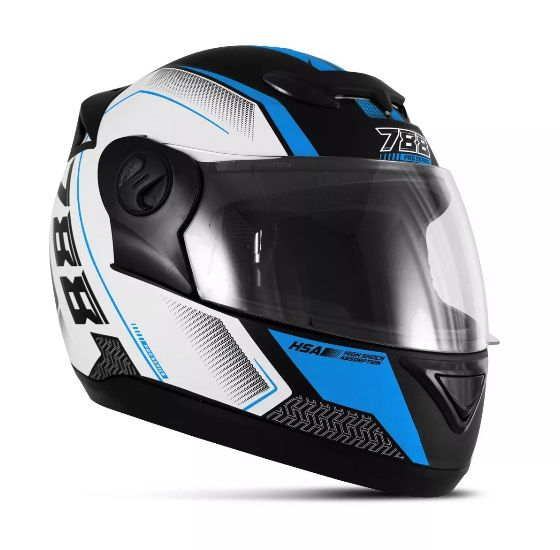 Capacete De Moto Evolution G6 788 Pro Series Azul