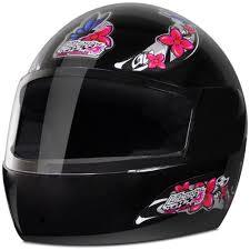Capacete De Moto Feminino Liberty 4 Preto Girls