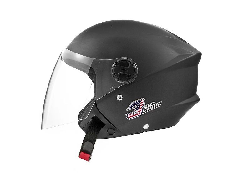 Capacete De Moto New Liberty 3 Elite Preto Fosco