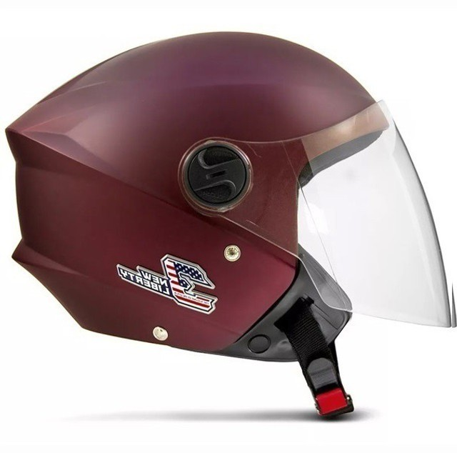 Capacete de moto Pro Tork New Liberty 3 Elite vermelho fosco