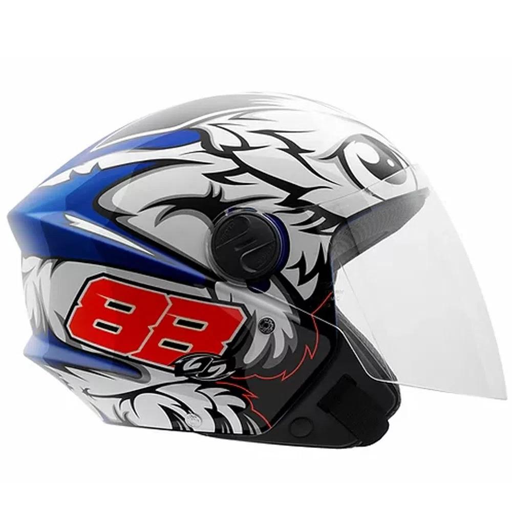 Capacete de moto Pro Tork New Liberty 3 GP 88 (azul)