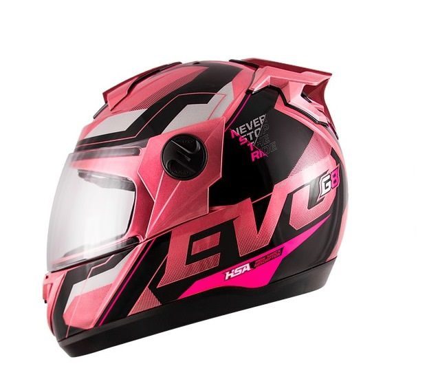Capacete Pro Tork Evolution G8 Evo (rosa)