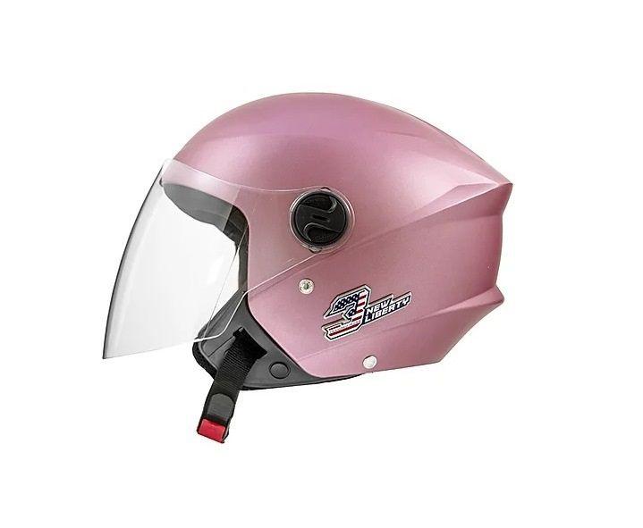 Capacete Pro Tork feminino New Liberty 3 Elite Rosa Fosco