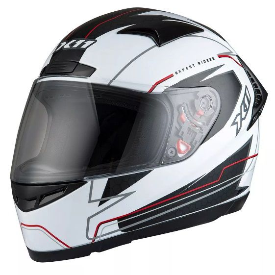 Capacete Para Moto X11 Volt Lines Branco