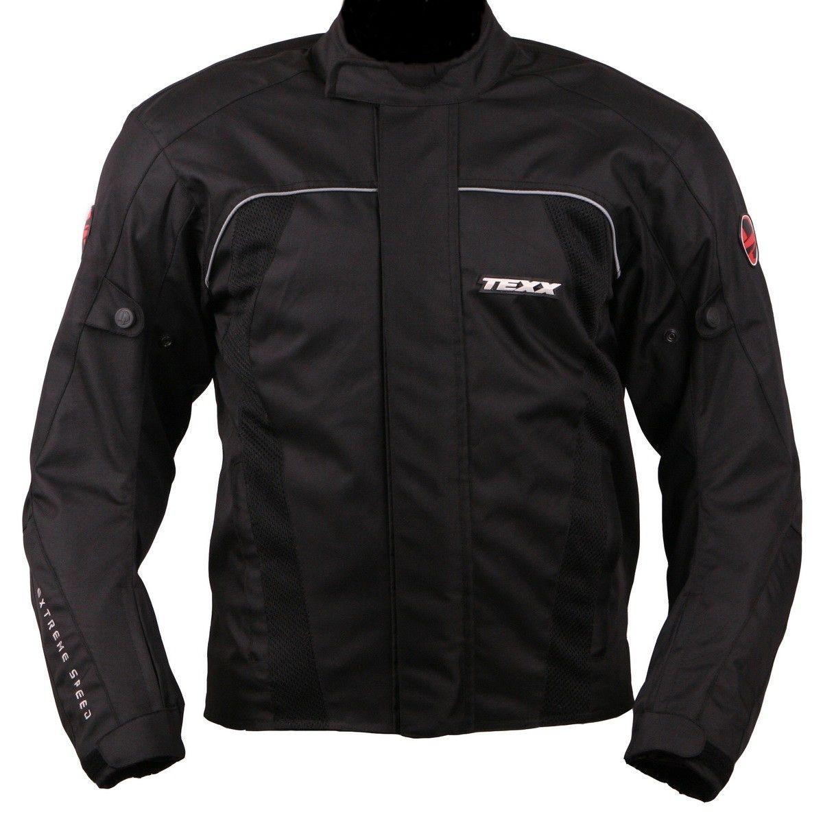 Jaqueta motoqueiro Texx Strike II Preta