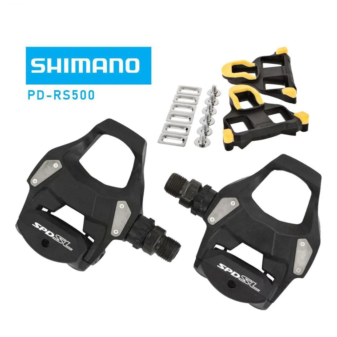 Pedal ciclismo clip Shimano PD-RS 500 Speed preto