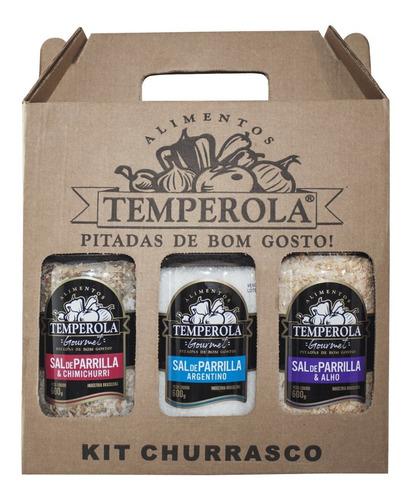 Kit Sal De Parrilla Para Churrasco Sabores Diversos 600g
