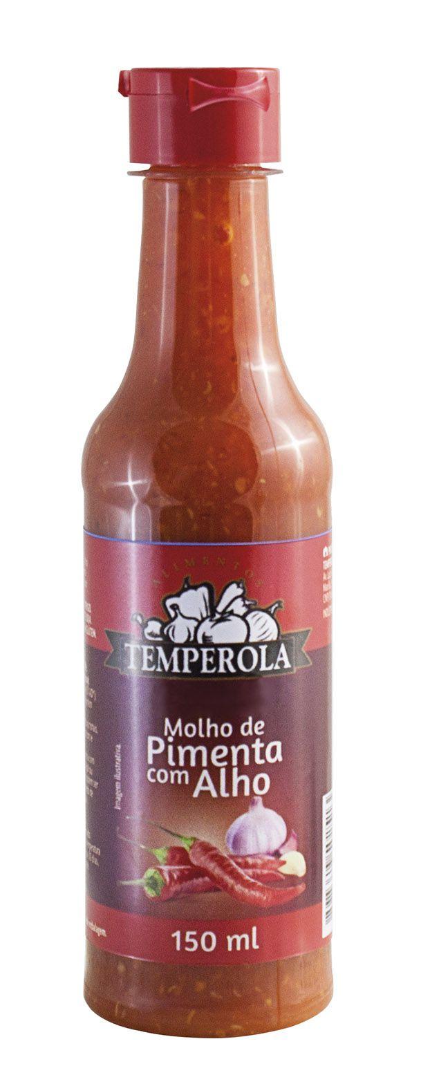 Molho de Pimenta com Alho 150 ml