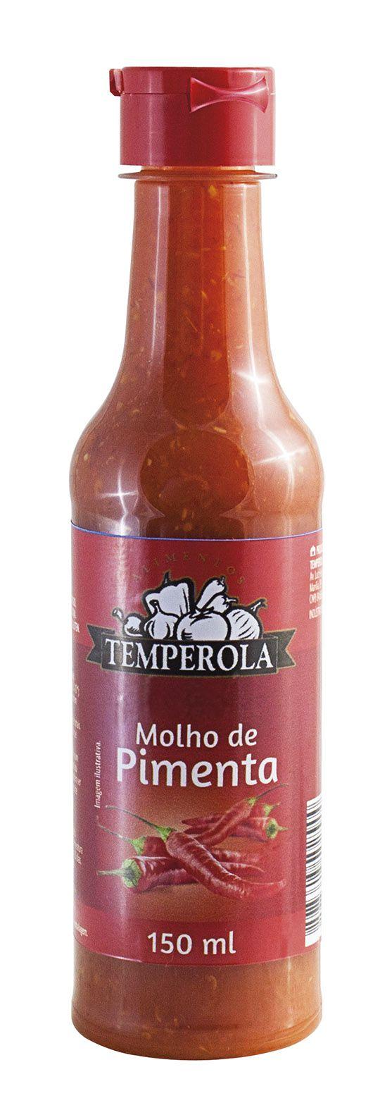 Molho de Pimenta Tradicional 150 ml