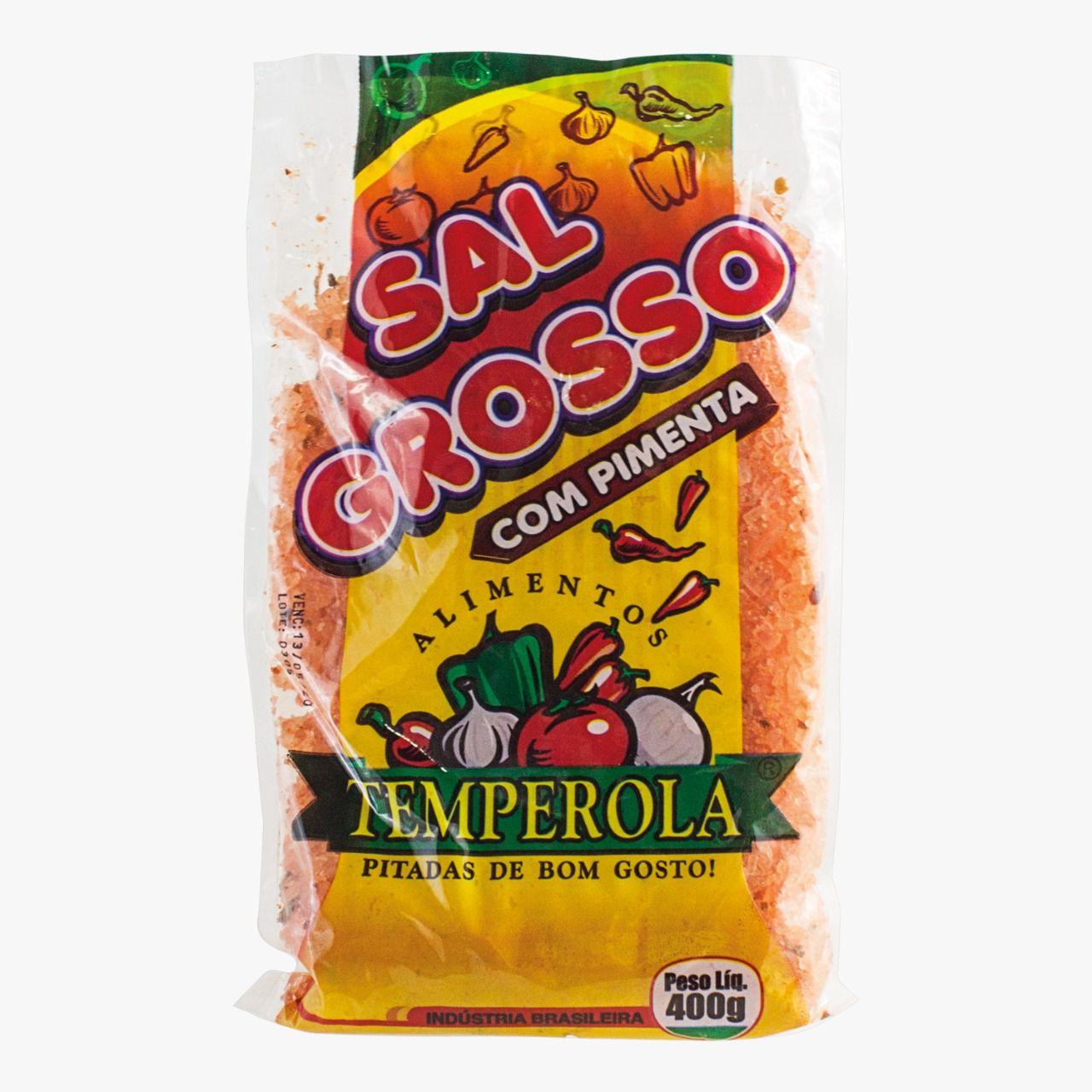 Tempero Completo Sal Grosso com Pimenta 400g