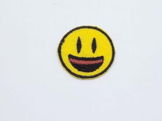 aplique termocolante smile emoji 2,8cm unitário