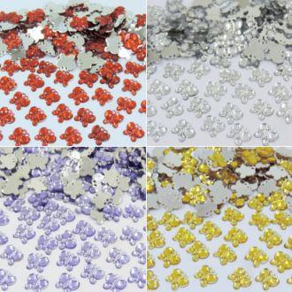 chaton borboleta 10mm para artesanatos 200 unidades