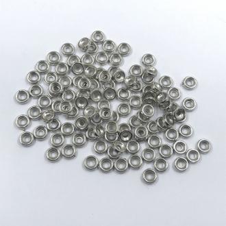 entremeio argolinha prata pulseiras e bijuterias 6mm 100 unidades