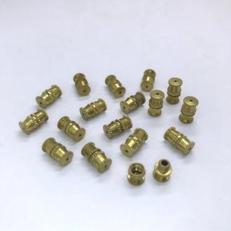 fecho rosca 10x5mm dourado bijuterias 10 unidades