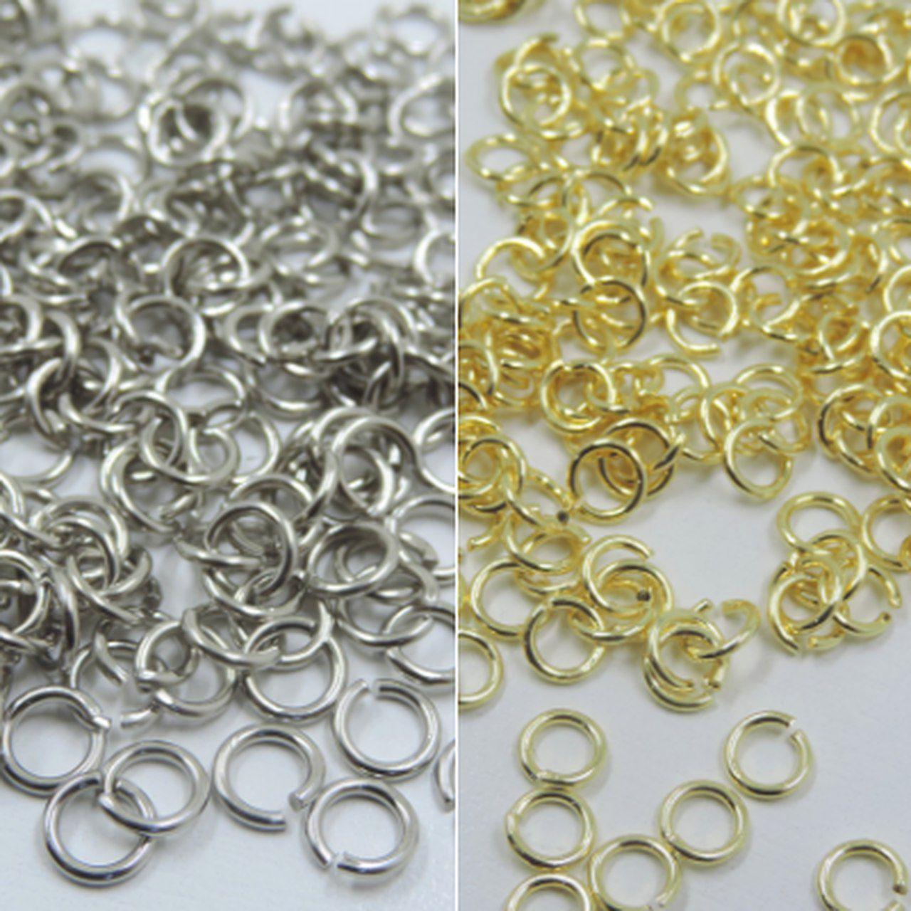 argolinhas para correntes em bijuterias e acessórios 25g