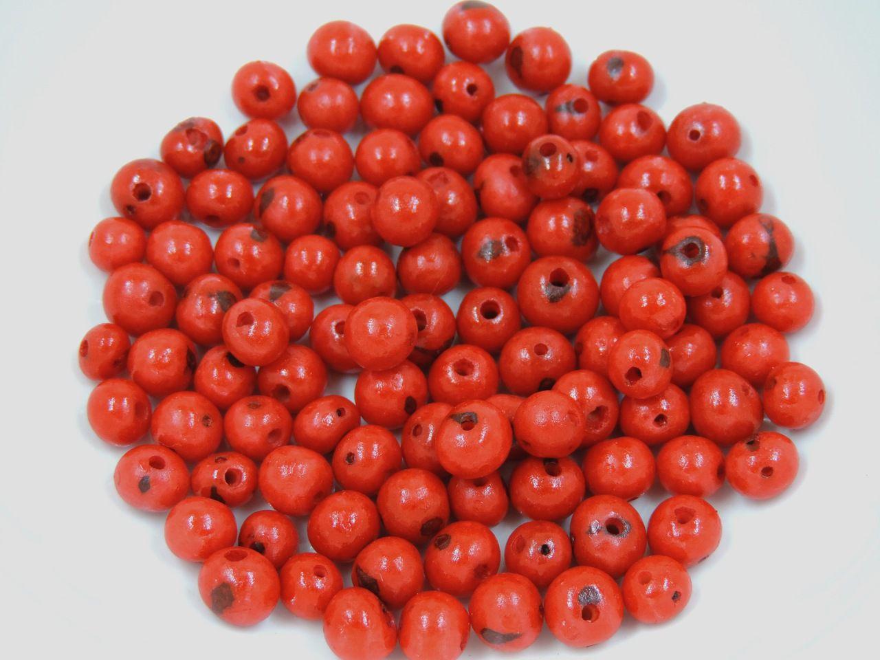 semente de açaí com furo para acessórios 100 unidades