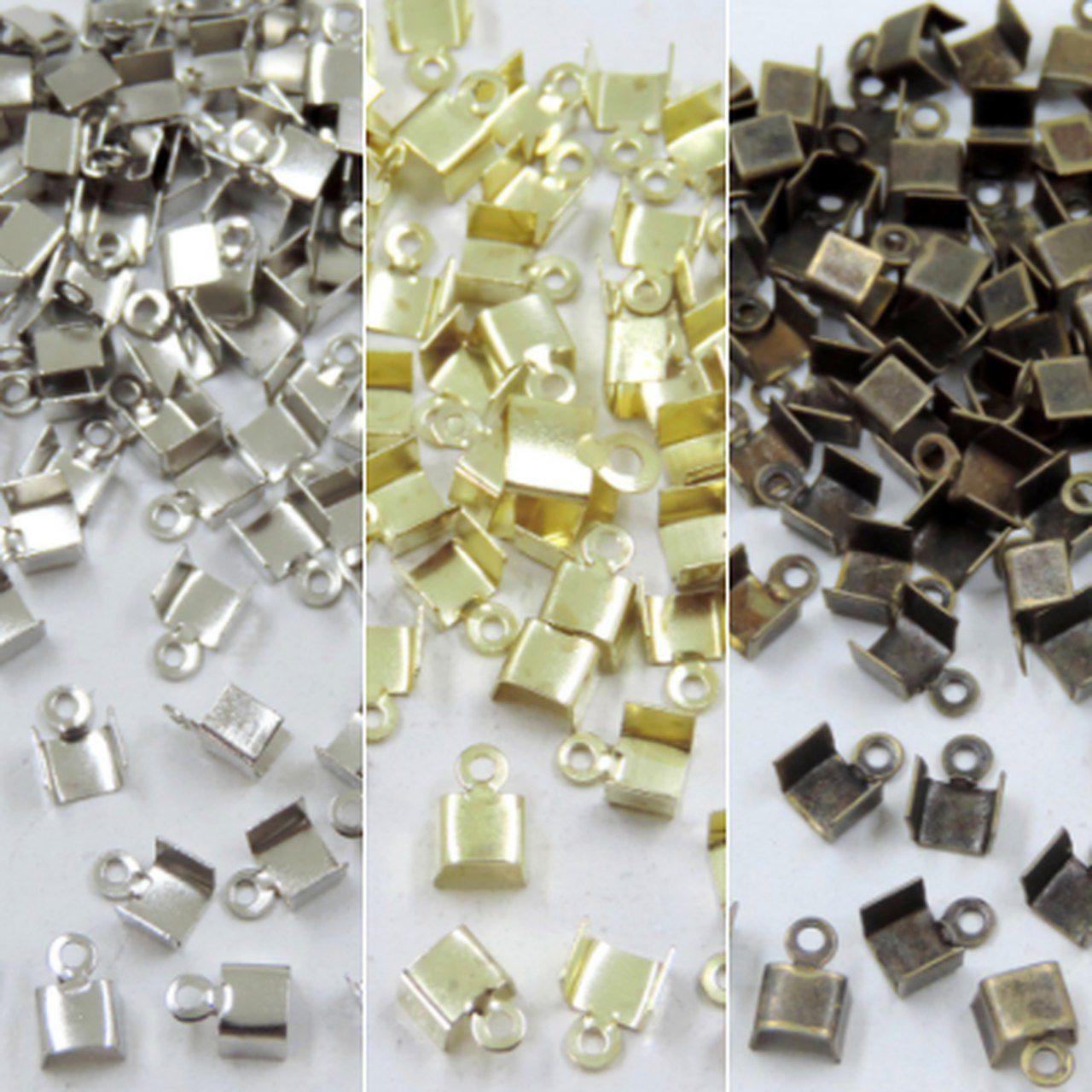 terminal quadrado 4mm metal 100 unidades