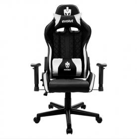 Cadeira Gamer Evolut EG 905 Tanker V2 - Preta/Branco