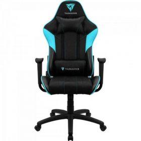 Cadeira Gamer ThunderX3 - EC3 Preta/Ciano