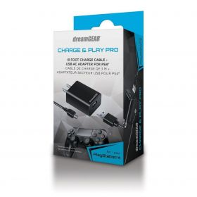 Charge & Play Pro Dreamgear - PS4