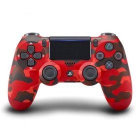Controle Dualshock 4 Camuflado Vermelho