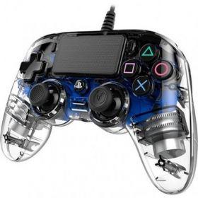 Controle Nacon PS4 Wired Illuminated - Azul