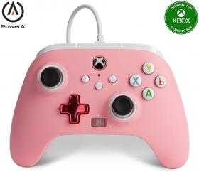 Controle Power A Com fio - Rosa - Xbox Series/Xbox One