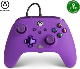Controle Power A Com fio - Roxo - Xbox Series/Xbox One