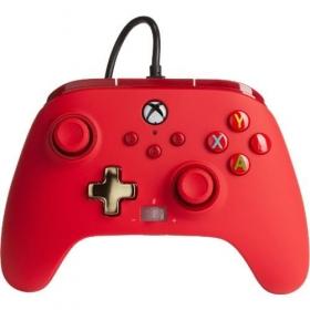 Controle Power A Com fio - Vermelho - Xbox Series/Xbox One