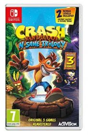Jogo Crash Bandicoot N'Sane Trilogy - Nintendo Switch