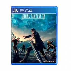 Jogo Final Fantasy XV - PS4 - Semi Novo