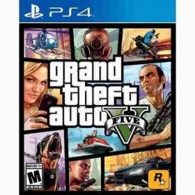 Jogo Grand Theft Auto V - PS4