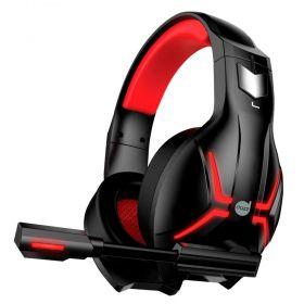 Headset Gamer Dazz Titan 2.0 USB - Preto e Vermelho