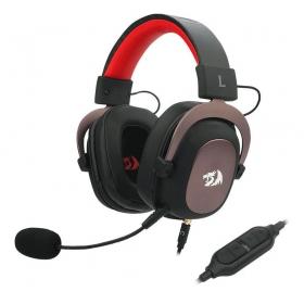 Headset Gamer Redragon Zeus H510 - 7.1 Som Surround Drivers 53mm - Preto/Vermelho