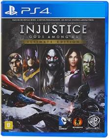Jogo Injustice Gods Among Us Ultimate Edition - PS4 - Semi Novo