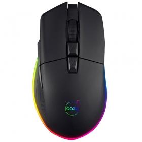 Mouse Gamer Dazz Kirata Ascendent RGB 8 Botões - 12400DPI