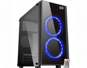 PC Gamer - Intel i3 8100 3.6 GHz, Placa Mãe Asus Prime H310-M, Memória RAM 16gb 2666mhz Corsair Vengeance PRO RGB, Fonte EVGA 550watts, HD 1 TB, 120 SSD, placa de vídeo NVIDIA GTX 1660 de 6gb VRAM.
