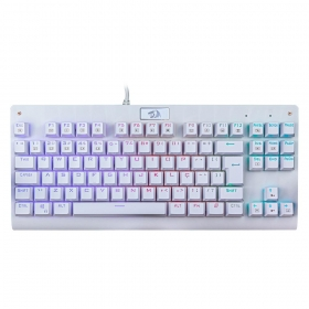 Teclado Gamer Redragon Dark Avenger K568W - RGB - Switch Outemu MK2 Brown - ABNT2 - Branco - K568W-RGB
