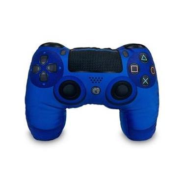 Almofada Antipop Controle Playstation 4 Azul