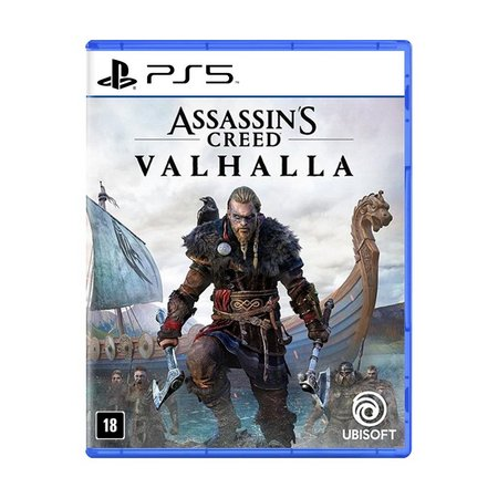 Jogo Assassins Creed Valhalla - PS5