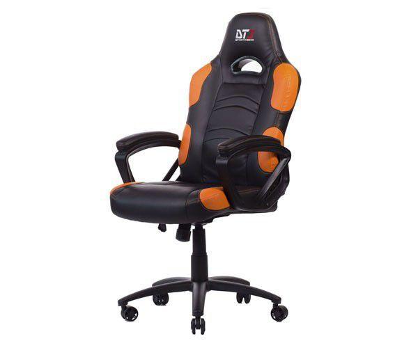 Cadeira Gamer DT3 Sports GTX Preta/Laranja