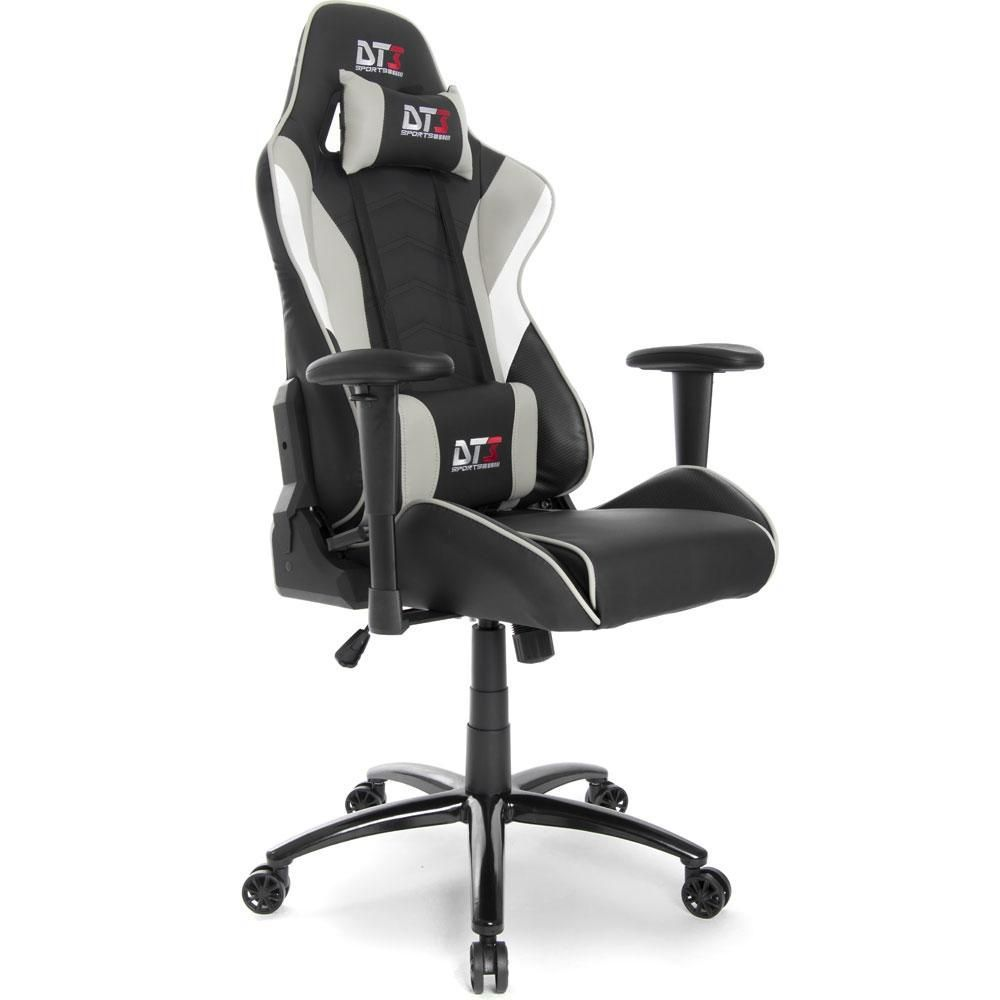 Cadeira Gamer DT3sports Elise - Cinza