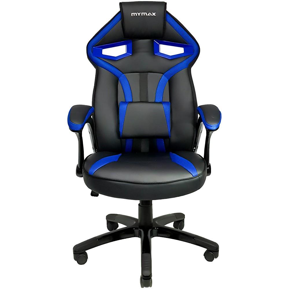 Cadeira Gamer Mymax MX1 - Preta/Azul