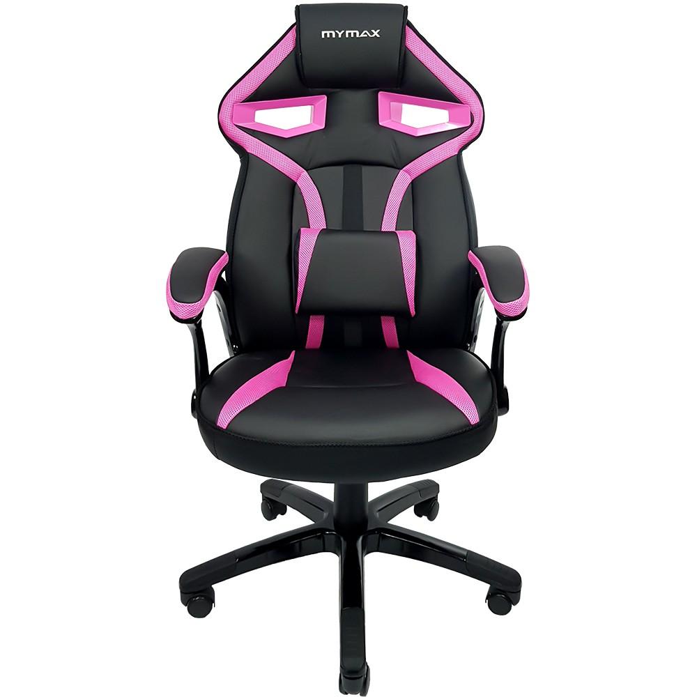 Cadeira Gamer Mymax MX1 - Preto/Rosa