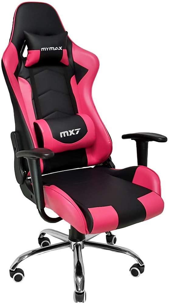 Cadeira Gamer Mymax MX7 - Rosa